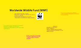 WWF: El proyecto de Espanol