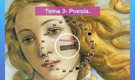 Tema 3- Poesía y Teatro.