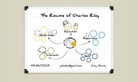 White Board Prezumé by Charles Riley