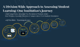 A Division Wide Approach to Assessing Student Learning: One Institution's Journey