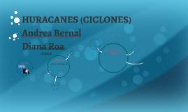 HRACANES (CICLONES)