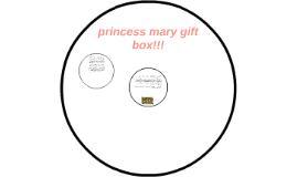 princess mary gift box!!!