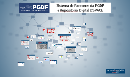 Sistema de Pareceres da PGDFe Repositório Digital DSPACE