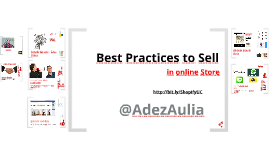 Best Practices to Sell Online