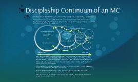 Discipleship Continuum of an MC