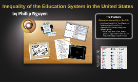 Inequality of the Education System in the United States