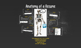 Webshop: Anatomy of a Resume