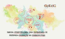 Digital sTORYTELLING: UMA EXPERIÊNCIA DE PESQUISA-FORMAÇÃO N