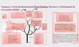 Clase 2: Bhabha, Del derecho a escribir