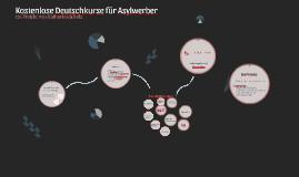 Kostenlose Deutschkurse für Asylwerber