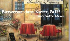 Notre Cafe Menu