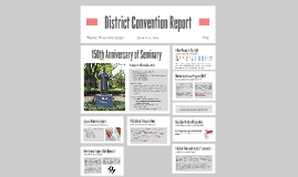 District Convention Report