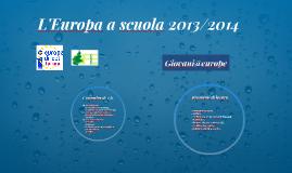 L'Europa a scuola 2013/2014