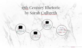 17th Century Rhetoric