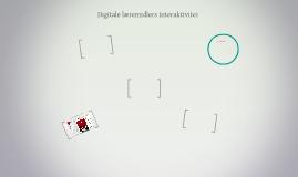 Digitale læremidlers interaktivitet