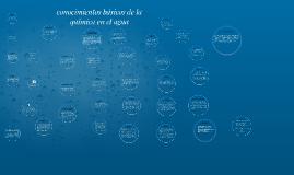 conocimientos basicos de la quimica en el agua