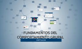 FUNDAMENTOS DEL COMPORTAMIENTO GRUPAL