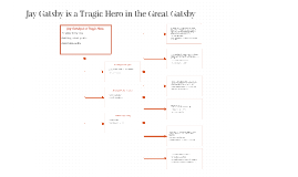 tragic hero jay gatsby What is gatsby's tragic flaw the great gatsby is a great example of a tragic hero could the tragic flaw jay gatsby be seen as greed.