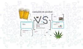 cannabis en alcohol