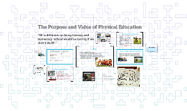 The Value of Physical Education