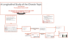 A Longitudinal Study of Chorale Topic