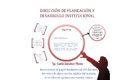 DIRECCIÓN DE PLANEACIÓN