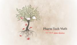 Copy of Pharm Tech Math