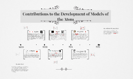 Contributions to the Development of Models of the Atom