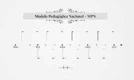 Modelo Pedagógico Nacional - MPN