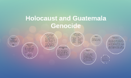 Holocaust and Guatemala comparison