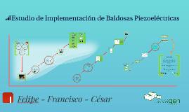 Estudio de Implementación de Baldosas Piezoelectricas