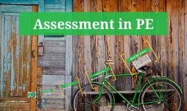 Assessment in PE