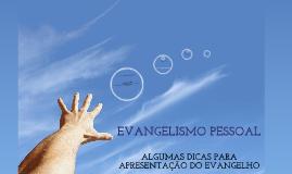TREINAMENTO DE EVANGELISMO PESSOAL