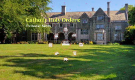 Catholic Holy Orders: