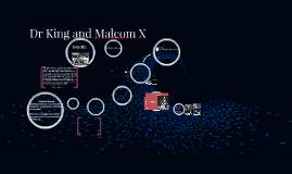 MLK and Malcom X