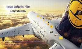 1000 Gründe für Lufthansa