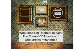 What inspired Raphael to paint