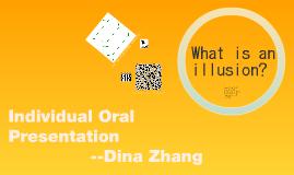 Individual Oral Presentation