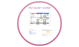 Non-resident tax II