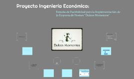 Proyecto Ingeniería Económica