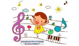 Estimulación Musical Infantil