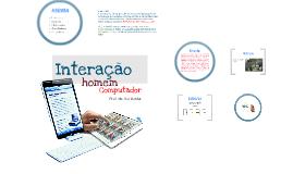 IHC - Interação Homem Computador