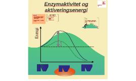 Aktiveringsenergi og navn på enzym