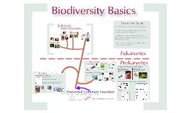 Biodiversity 2: Domains
