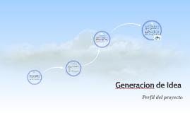 Generacion de Idea