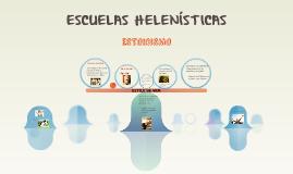 Copy of ESCUELAS HELENÍSTICAS