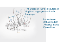 Copy of The Usage of ICT's Resources in English Language as a forein