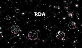 RDA Standard Record, TCD