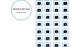 Historia del cine: grandes momentos