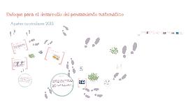 Copy of Habilidades de pensamiento matemático según nuevos ajustes curriculares 2012
